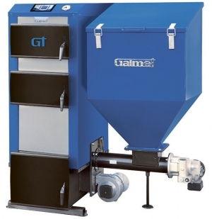 Автоматический угольный котел Galmet EKO GT-KWP - 25кВт (стационарная реторта)