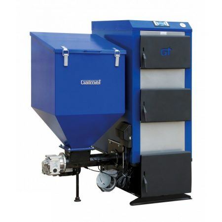 Пеллетный котел Galmet EKO GT-KWP M TRIO - 25 кВт (поворотная реторта), пеллеты, дрова, уголь, автоматизированный