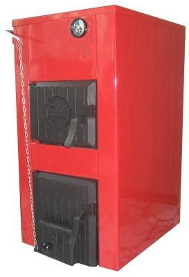 Котел твердотопливный КЧМ-5 МИКРО, уголь, дрова, газ, водяной контур, 15кВт